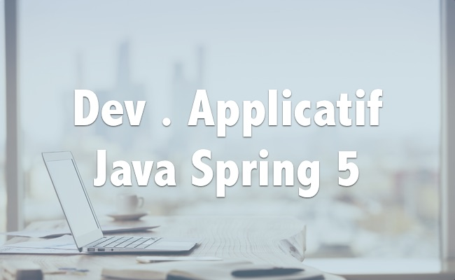 Dev. Application en Java avec Spring