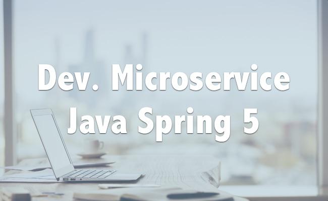 Dev. Microservices en Java avec Spring